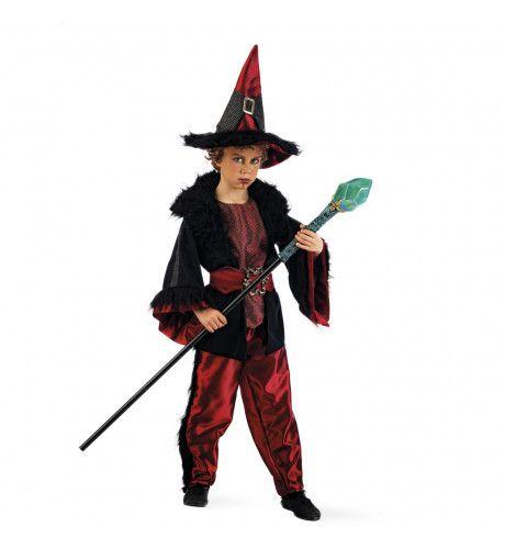 Boze Tovenaar Nick Nachtuil Kind Kostuum
