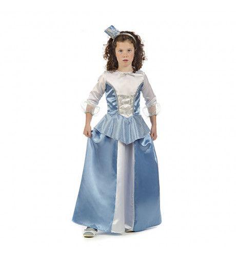 Prinses Viola Van Zweden Meisje Kostuum