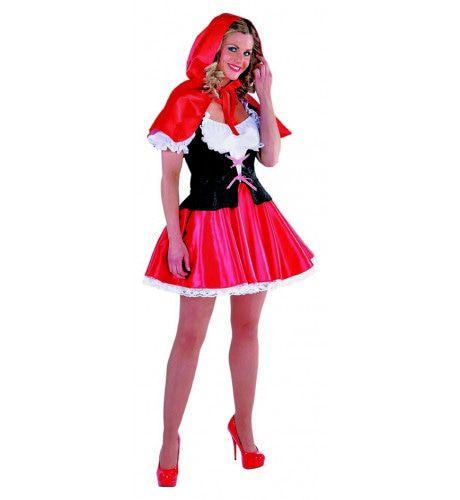 Waar Ga Jij Heen Roodkapje Vrouw Kostuum