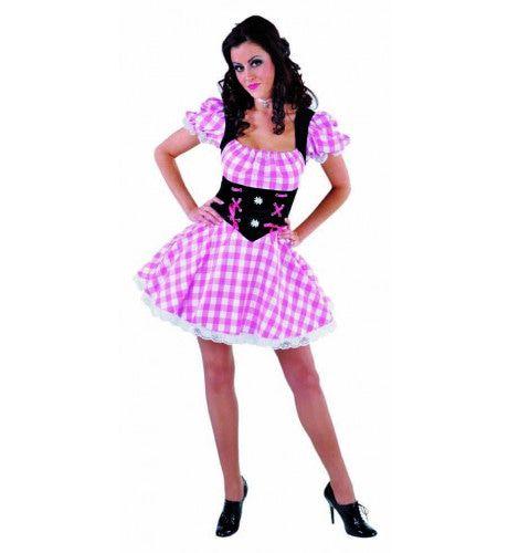 Tiroler Edelweiss Dirndl Vrouw Kostuum