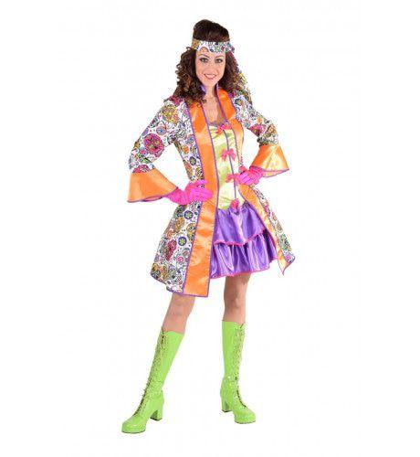 Kleurige Schedels Day Of The Dead Vrouw Kostuum