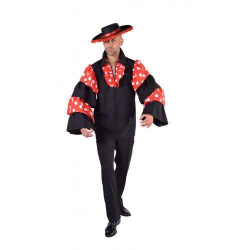 Blouse Spaanse Flamenco Gitarist Man