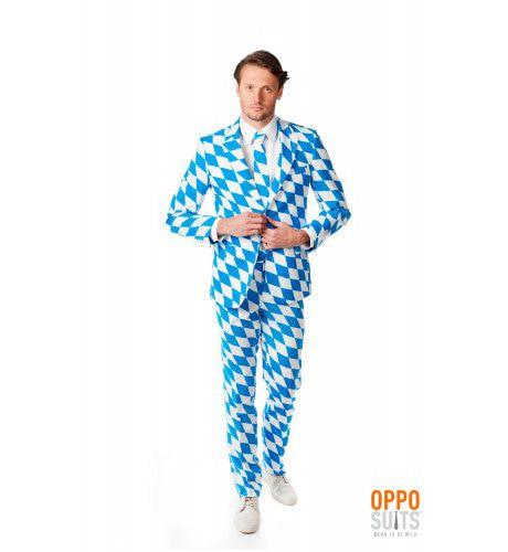The Bavarian Harlequino Opposuit Kostuum Man