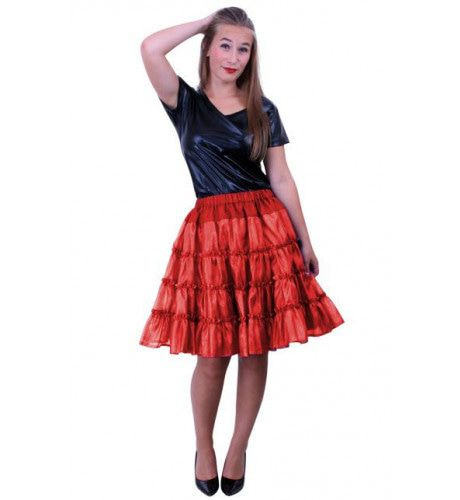 Rock A Baby Petticoat 5 Laags Rood