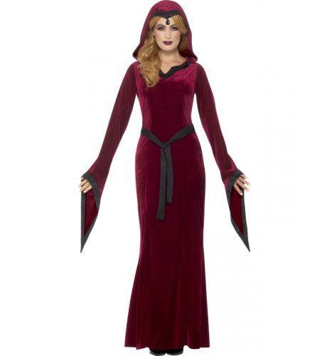 Geraffineerde Vampier Dame Vrouw Kostuum