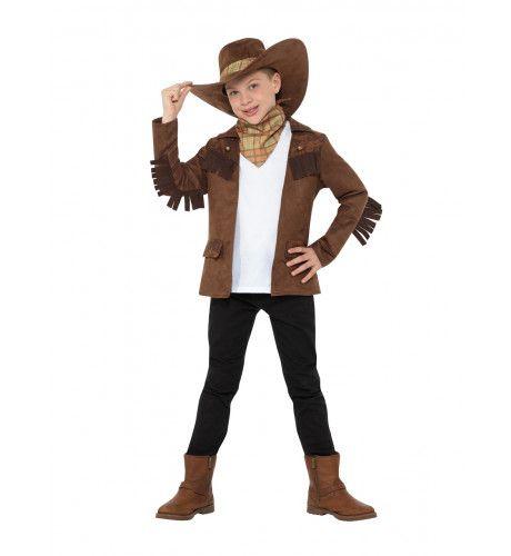 Sheriff Joshua Fast Gun Jongen Kostuum