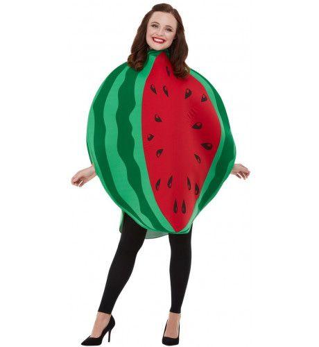 Sappige Ronde Watermeloen Kostuum