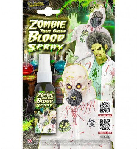 Bio-Wond Zombie Bloedspray, Groen 48ml