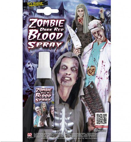 Halloween Zombie Bloedspray, Rood 48ml