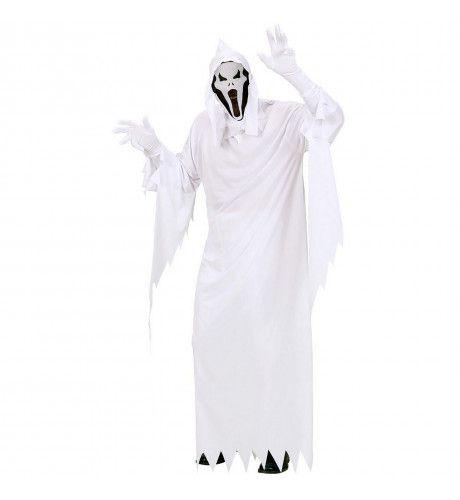 Spook Wit White Ghost Kostuum Man