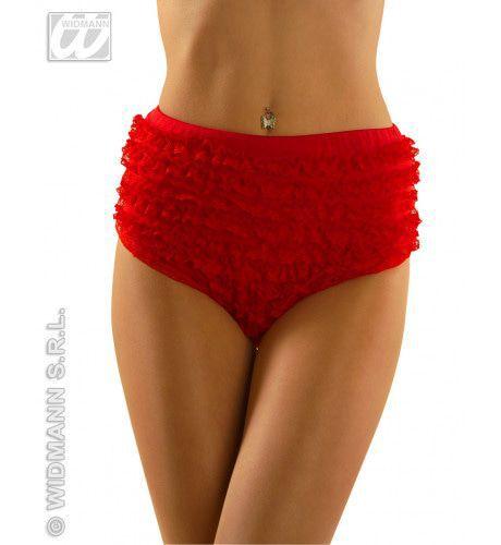 Rode Kanten Panty