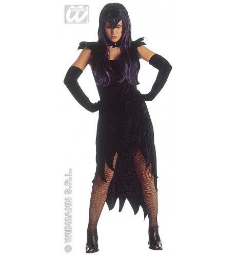 Hot & Dark Mistress, Fluweel Kostuum Vrouw