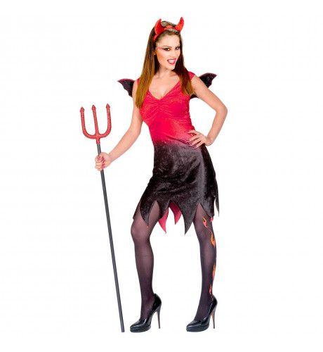 Hot & Spicy Duivelin XL Kostuum Vrouw