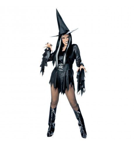 Dark Spicy Witch Kostuum Vrouw