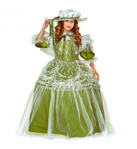 Mini Milady Meisje Kostuum