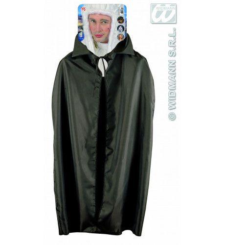 Zwarte Cape, Kind, 115cm Kostuum
