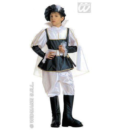 Witte Prins Prince Charming Kostuum Jongen