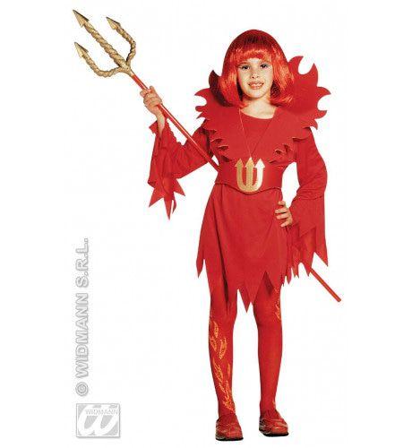 Kleine Duivelin Red Devil Kostuum Meisje