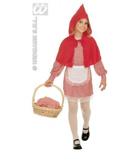 Sweat Roodkapje Kostuum Meisje