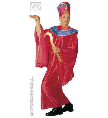 Farao Egyptische Priester Kostuum Man
