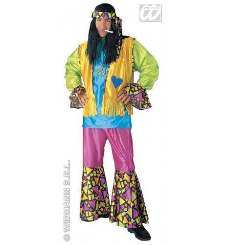 Smoking Hippie Heer Kostuum Man