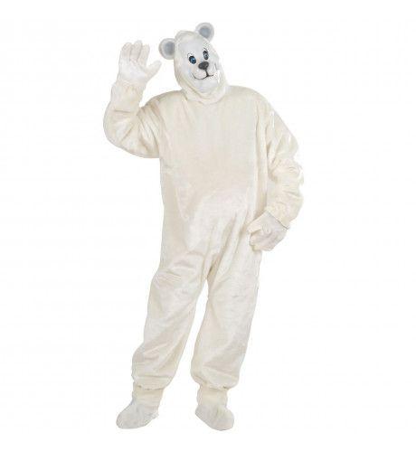 Sympathieke Pluche IJsbeer Kostuum Man