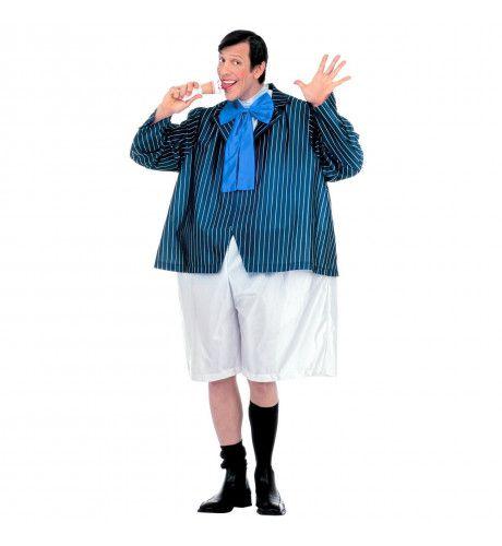 Vette Schooljongen Alfred Kostuum Man
