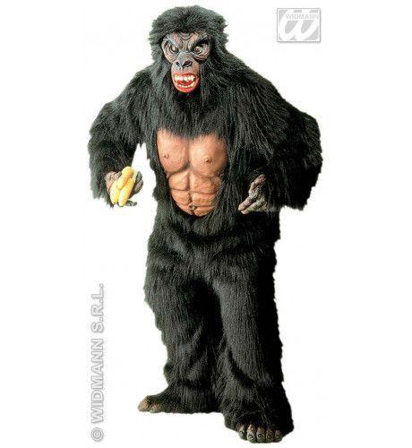 King Kong In Pluche Superluxe Kostuum Man