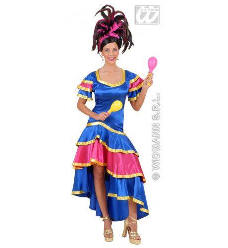 Samba Danseres Sambadrome Kostuum Vrouw