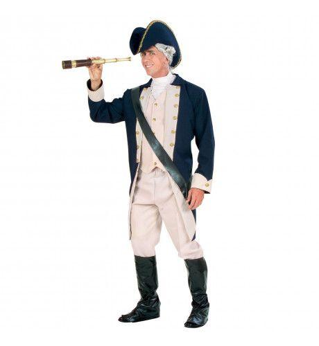 Kapitein Der 7 Zeeen Admiraal Kostuum Man