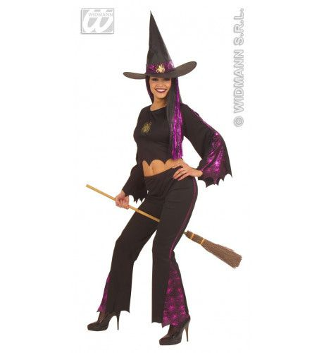 Hete Heks Fiberoptisch Kostuum Vrouw