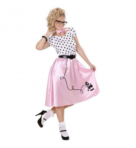 Poedelmeisje 50s Ms Sugar Kostuum Vrouw