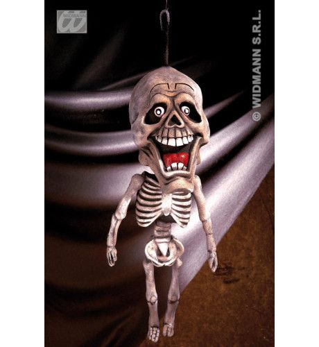 Hangende Decoratie, Skelet