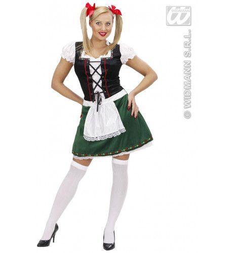 Bierstube Beiers Meisje Kostuum Vrouw