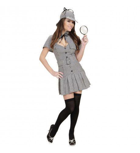 Prive Detective Ms Sherlock Kostuum Vrouw