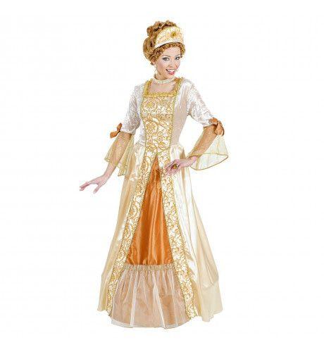 Gouden Prinses De Luxe Prinses Gold Kostuum Vrouw