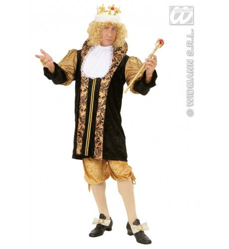 Middeleeuwse Koning Koning Philip Kostuum Man