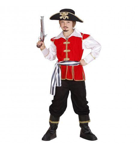 Officieel Piratenkapitein Jongen Kostuum