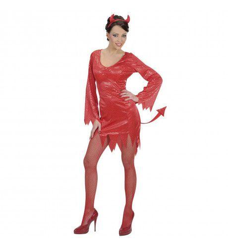 Prinses Devilicious Jurk Kostuum Vrouw