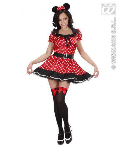 Spannende Muis Meisje XL Kostuum Vrouw