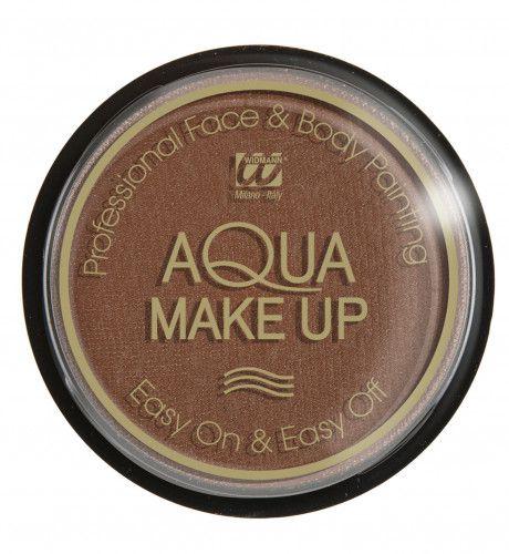 Aqua Make-Up 15gr, Bruin