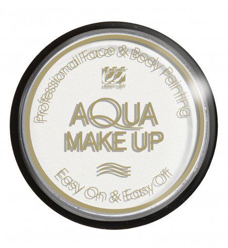 Aqua Make-Up 30gr, Wit