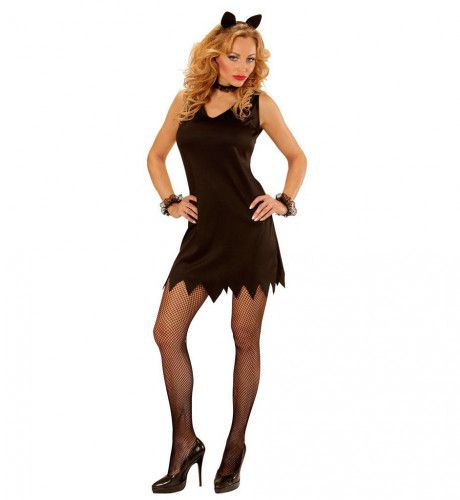 Little Black Dress Dames Katje Vrouw Kostuum