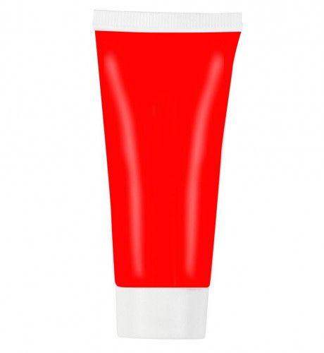 Unicolor Aqua Make-Up In 30 Ml Tube, Rood