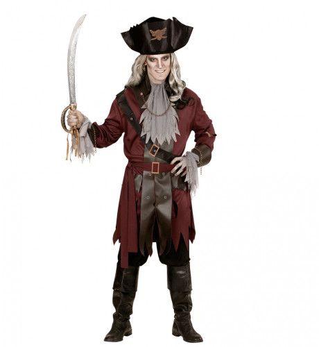 Luxe Kapitein Spook Man Kostuum