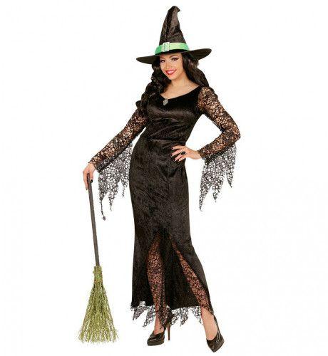 Ms Everblack Heks Vrouw Kostuum