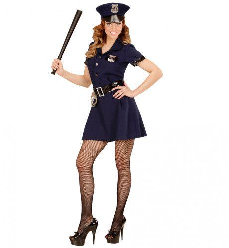 Officer Hottie Politie Vrouw Kostuum