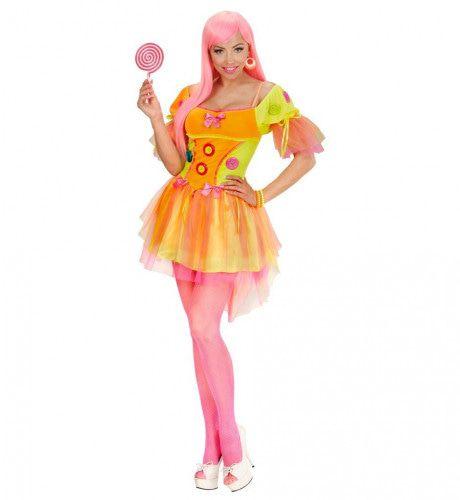Neon Fantasy Dame Uit Een Droom Kostuum