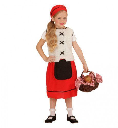 Plattelands Meisje Kostuum