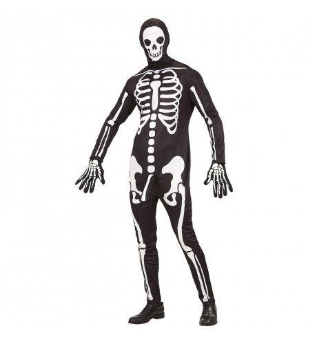 Geil Skelet Met Leuter Man Kostuum